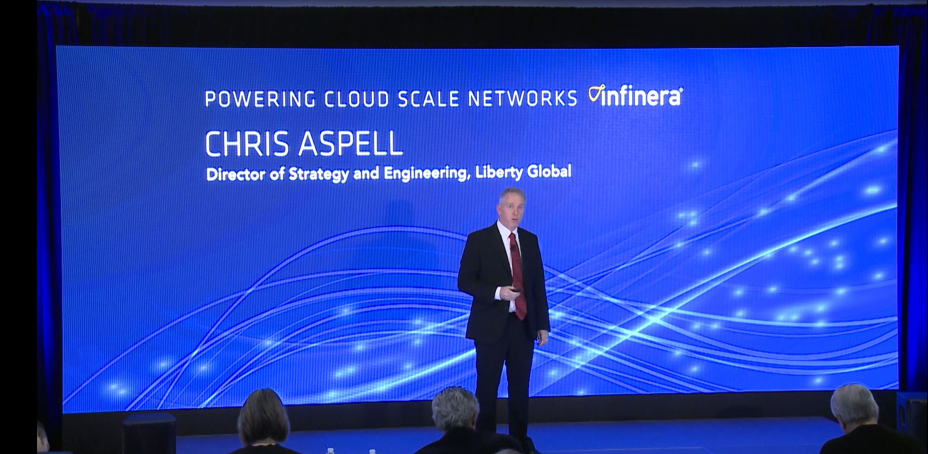 Chris Aspell, Director of Strategy at Liberty Global, at Insight Infinera 2016