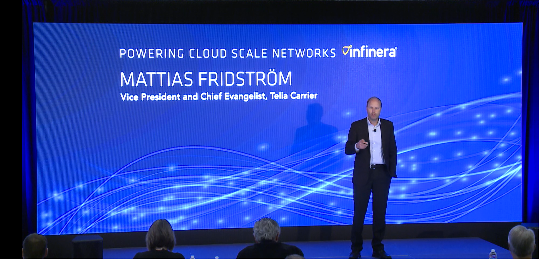 Mattias Fridström, Chief Evangelist at Telia Carrier, at Insight Infinera 2016