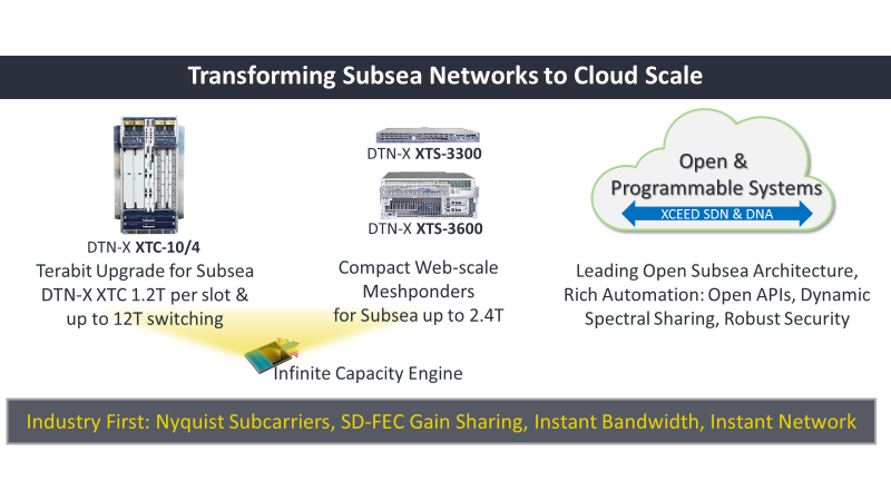 Transforming Subsea Networks to Cloud Scale