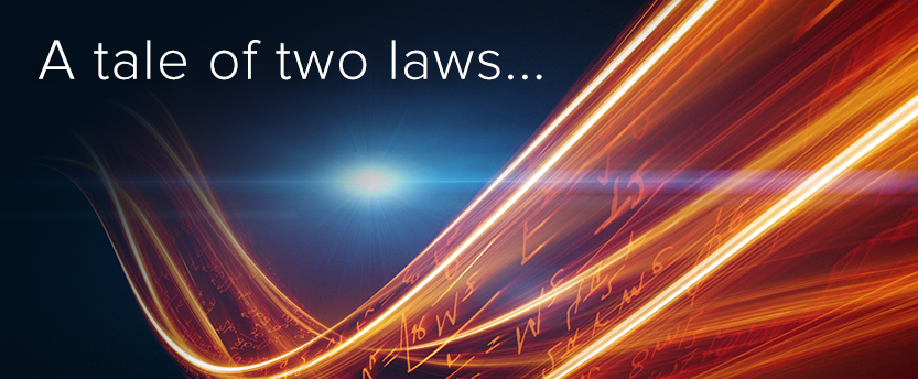 A tale of two laws...