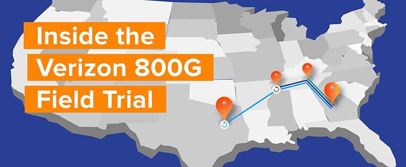 Inside the Verizon 800G Field Trial