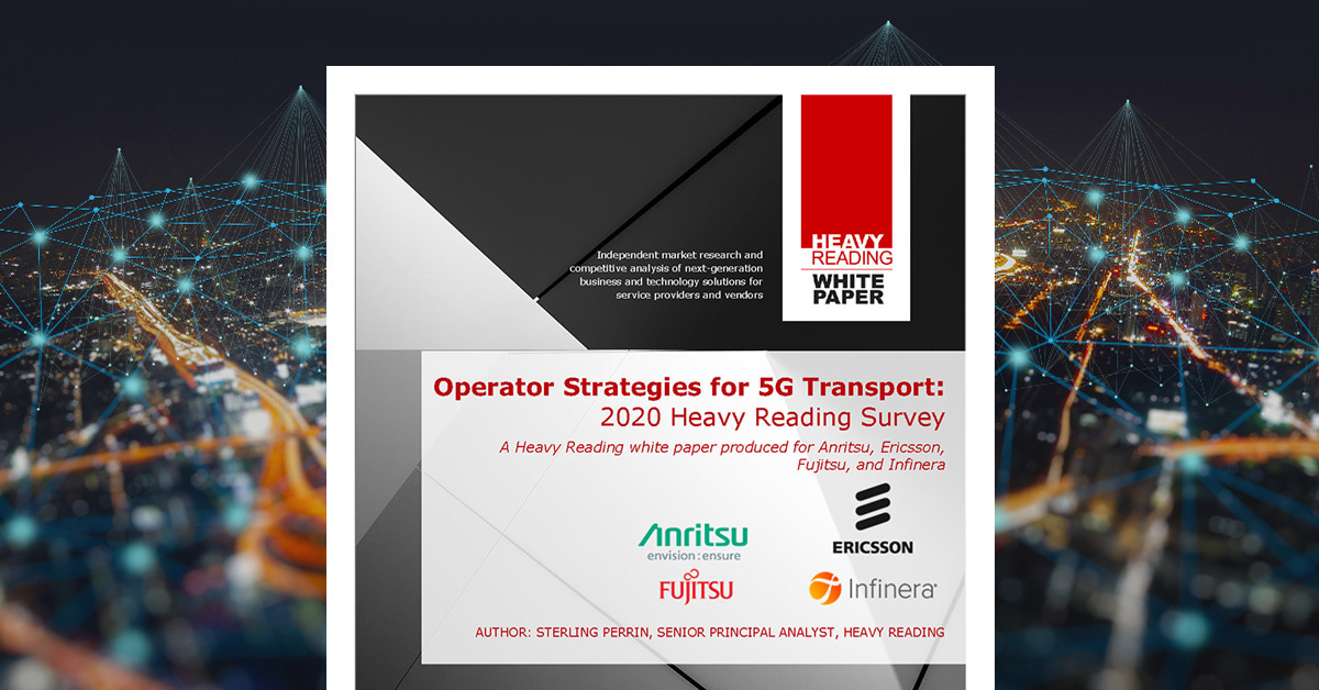 Checkpoint 2020: Operator Strategies for 5G Transport White Box Switching/Routing Plays a Key Role