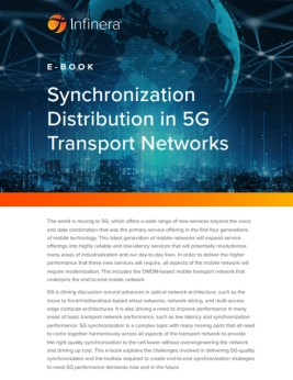 front cover of e-book Synchronization distribution of 5G tranport networks