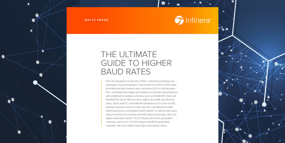 The Ultimate Guide to Higher Baud Rates White Paper - 800G and beyond
