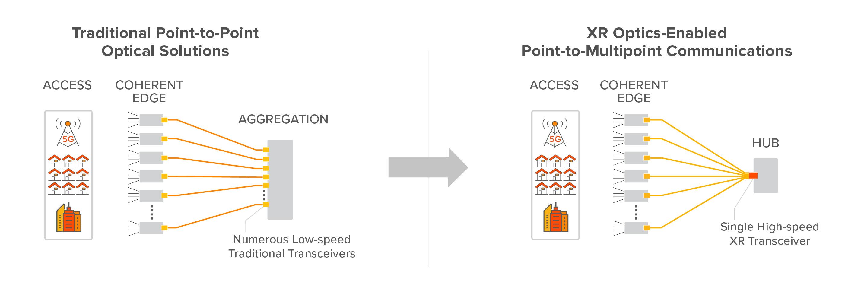 point ot point optical network