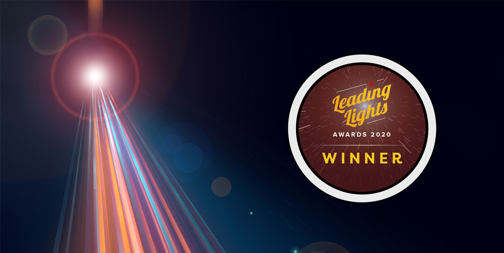 XR optics wins 2020 Leading Lights award
