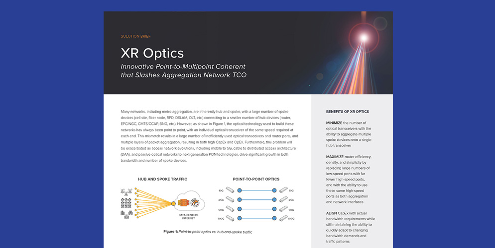 XR Optics Solution Brief